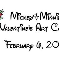 Mickey&ampMinnies Valentines Art Carnival