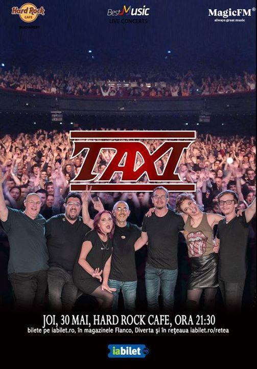 Taxi - 30 mai - Hard Rock Cafe