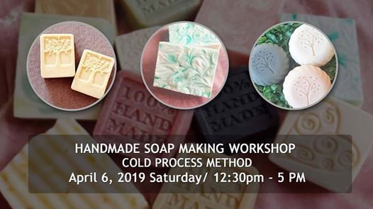 Handmade Soap Making Workshop - Cold Process Method