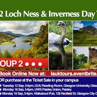 Group 2 Loch Ness &amp Inverness Day Trip