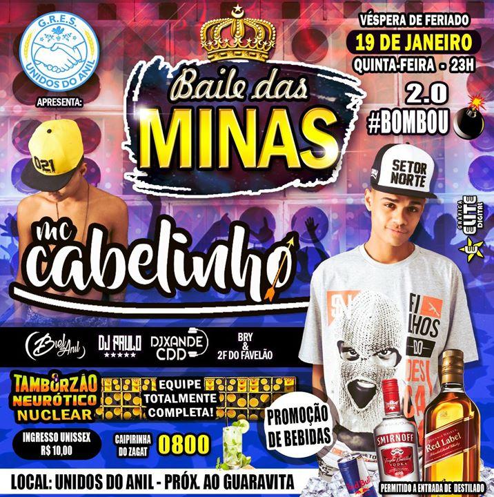 BAILE DAS MINAS 2.0  COM MC CABELINHO
