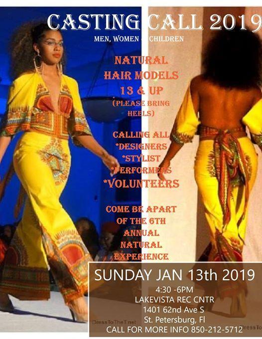 Casting CALL 2019 at Lake Vista Park1401 62nd Ave S, Saint