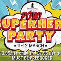 POW Superhero Party at Cannon Hall Farm - 1112 March