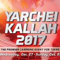 Yarchei Kallah 2017