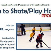 Ice Skating/Hockey (Learn to Skate) - Albany County