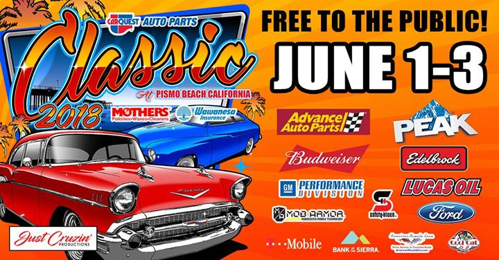The Rd Annual CarQuest Classic At Pismo Beach Car Show - Classic car show pismo beach