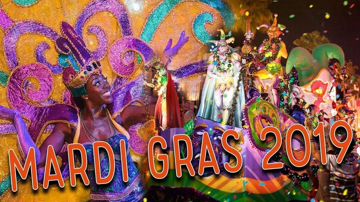 2019 MARDI GRAS & FOOD EXCURSION TURN-AROUND TRIP