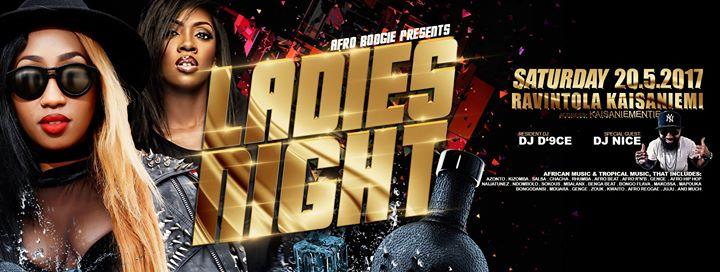 CLUB AFRO BOOGIE Presents Ladies Night