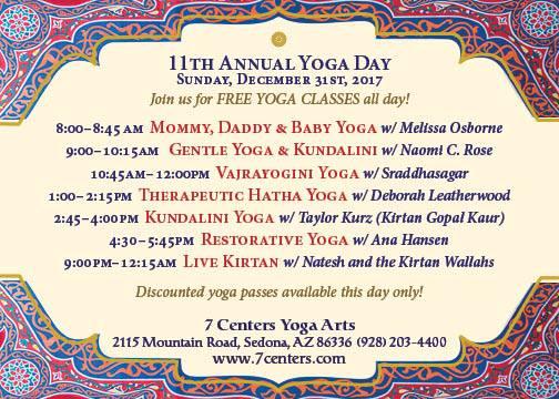 11th Annual Yoga Day