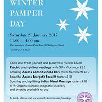 Winter Pamper Day