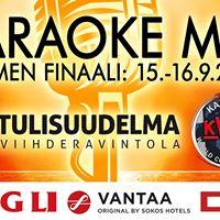 Karaoken MM 2017 - Suomen Finaali