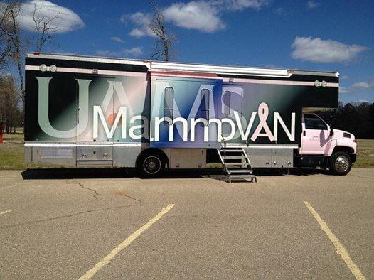 UAMS Mobile Mammovan-Lonoke