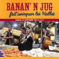 Le Groupe Banan n Jug fait swinguer les Halles