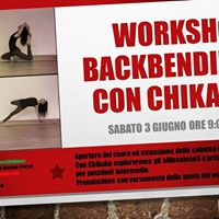 Workshop Backbending con Chikako