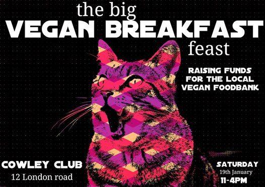The Big Vegan Breakfast Feast - vegan foodbank fundraiser