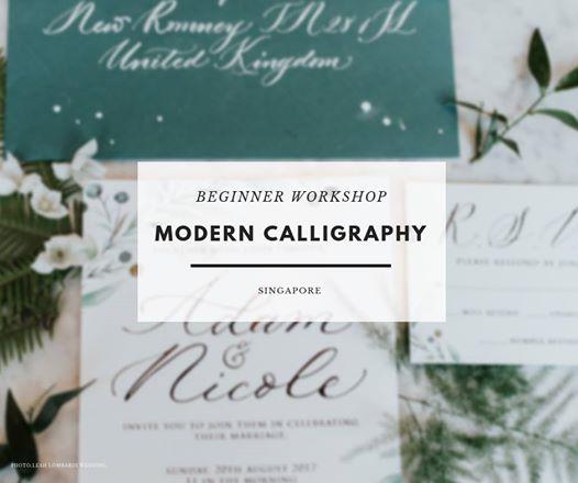 Beginner Modern Calligraphy Workshop - Singapore