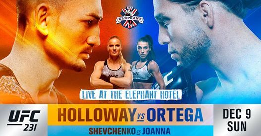 UFC 231 LIVE at The Elephant Hotel