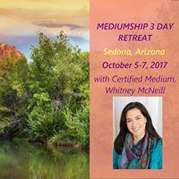 Mediumship Retreat - 3 Days in Sedona