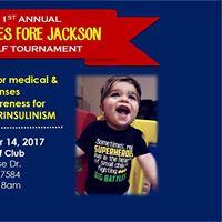 HI Hopes Fore Jackson Golf Tournament - Hyperinsulinism Support