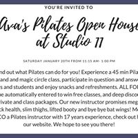 Avas Pilates Open House at Studio 11 in Tremont