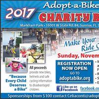 2017 Adopt-a-Bike Charity Ride