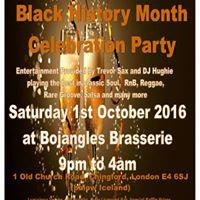 Black History Month Celebration Party