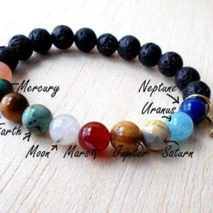 Planetary Gemstone Bracelet Making