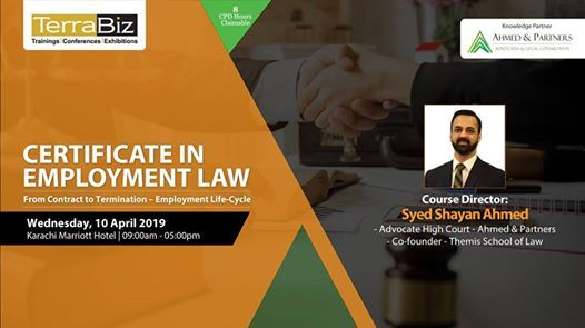 Certificate in Employment Law