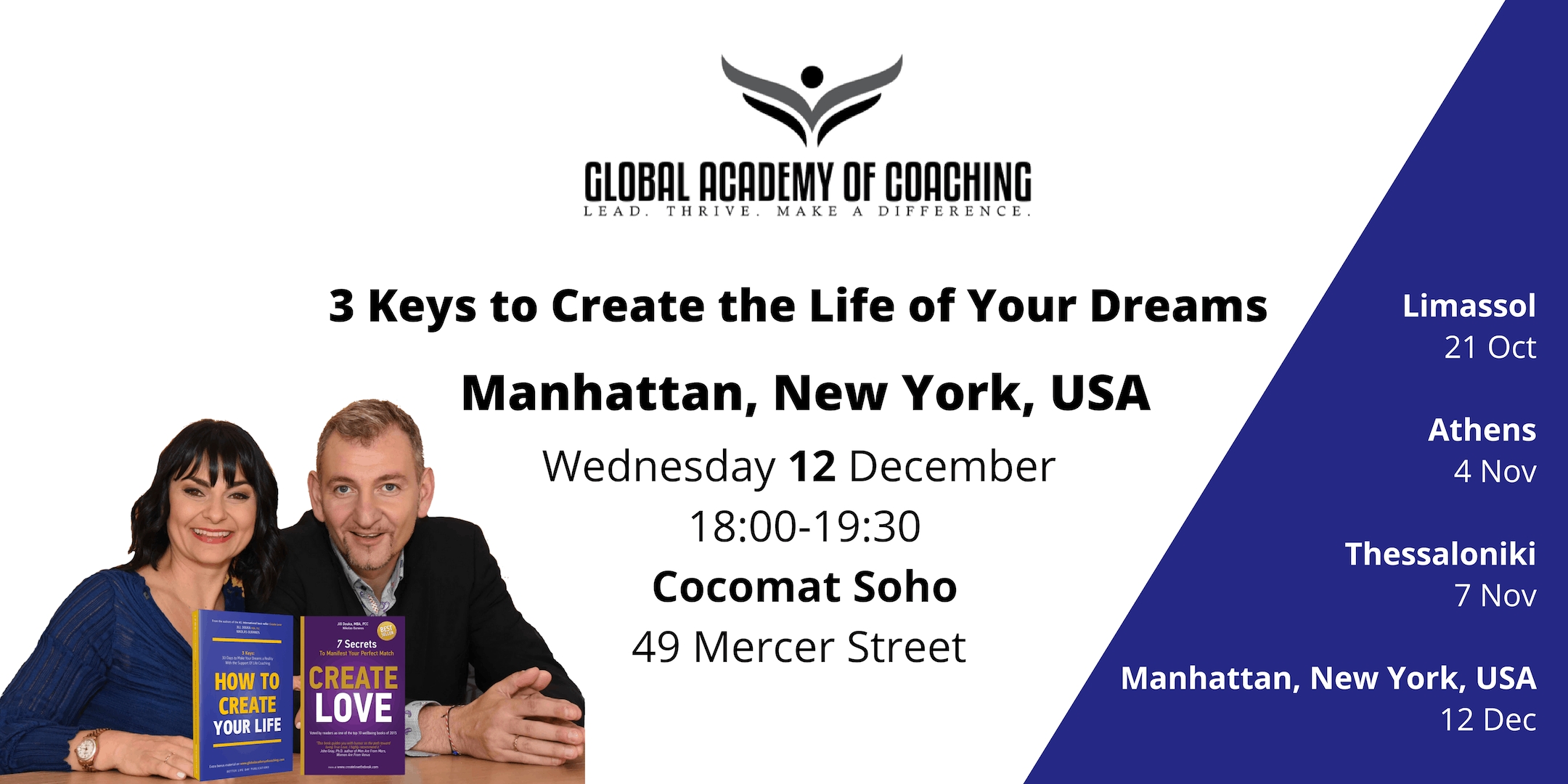3 Keys to Create the Life of Your Dreams