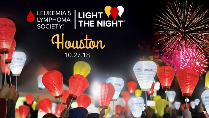 Lovely Houston LLS Light The Night Amazing Design