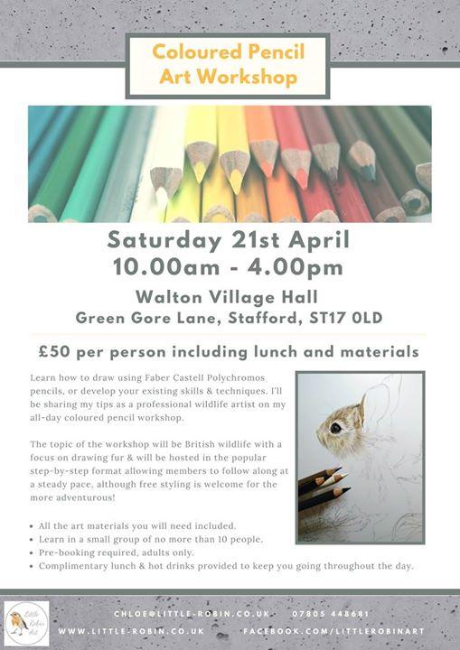 Coloured Pencil Workshop