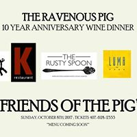 Friends of the Pig Anniversary Dinner
