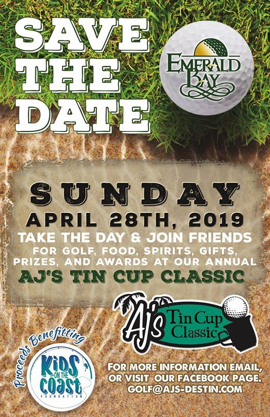 AJs Tin Cup Classic Golf Tournament at AJ's Seafood & Oyster