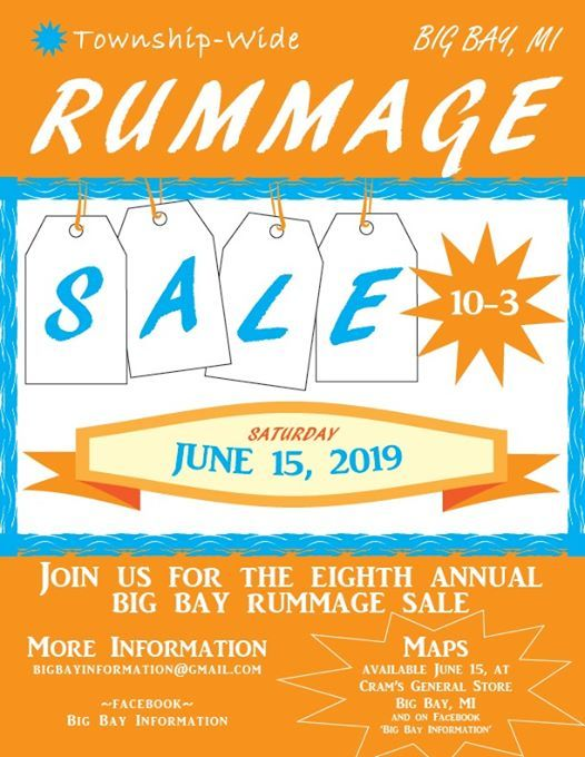 Big Bay Community Rummage Sale at County Road 550, Marquette