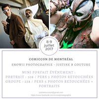 Comiccon Montreal 2017 Snowii Photographie