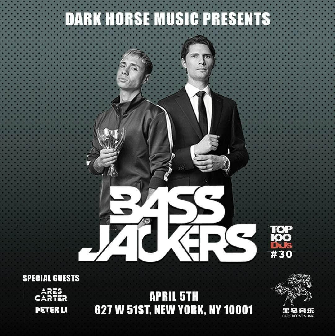Bassjackers Live Performance and Party NYC
