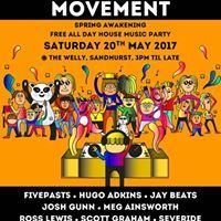Movement House Music Day Party Spring Awakening