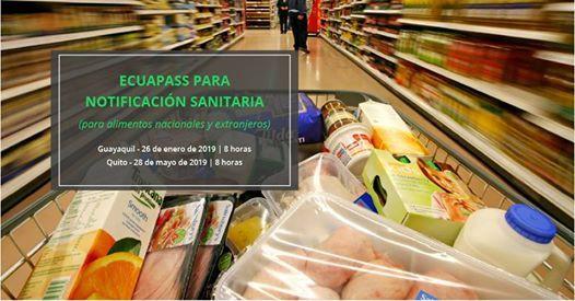 Ecuapass Notif Sanitaria Alimentos Nacionales Y Extranjeros