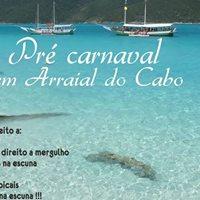 Pr Carnaval em escuna Arraial do Cabo