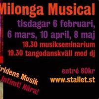 Milonga Musical Stallet Vrldens Musik