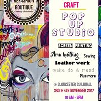 Pop-Up &amp Up-Cycling Creative Workshop