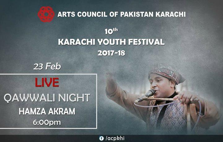 10th Karachi Youth Festival | Hamza Akram, Taimoor, Abdul