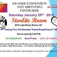 Kramer Foundation &amp Abbys Paws Fundraiser