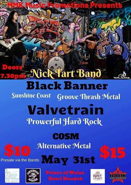 MMK Presents Nick Tart Band