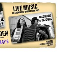 Folk Pop show with Natalie Cortez and Bazooka in Roseville