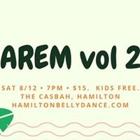 Harem vol 23 - Bellydance Show in Hamilton at The Casbah