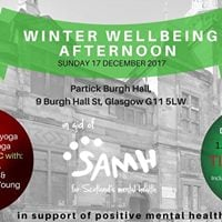 Winter Wellbeing Afternoon - Enjoy Yoga Mantra &amp Music in Glasgow