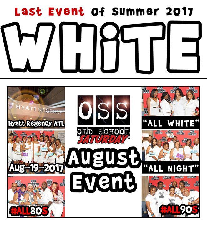 Next - OSS [Old School Saturday] at Hyatt [Sep.30.2017]