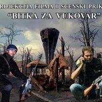 Projekcija filma i glazbeno scenski spektakl &quotBitka za Vukovar&quot