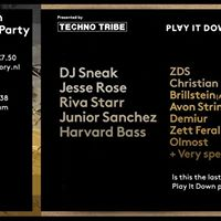Techno Tribe pres. Play It Down 100 Release afterparty